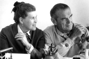Portrait de Charles et Ray Eames