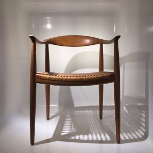 The Chair par Hans Wegner
