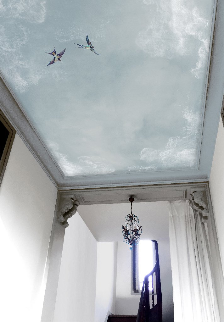 Le papier peint Ciel d'Isidore Leroy