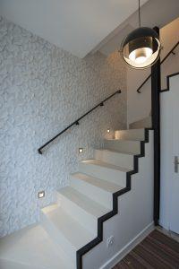 Montée d'escalier déco