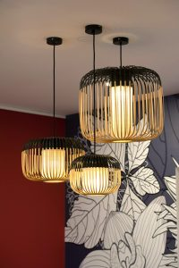 Suspensions bambous Forestier