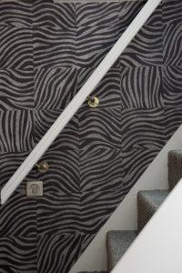 Papier peint motif zèbre