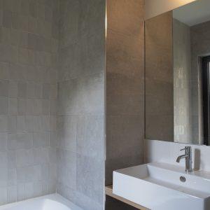 Salle de bains épurée